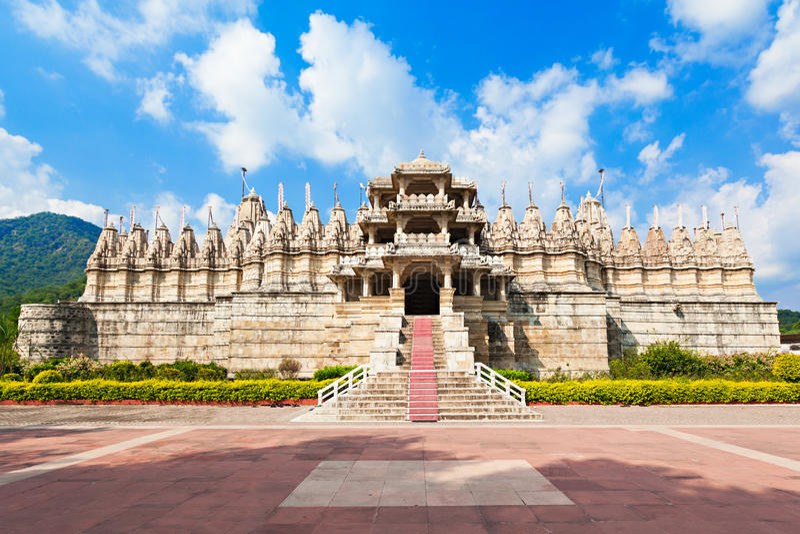 Templo de Ranakpur, Índia foto de stock
