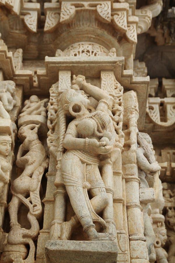 Templo de Ranakpur fotografía de archivo