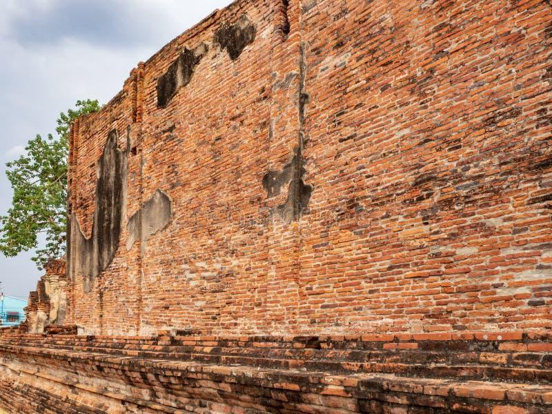 Templo de Ratchaburana fotografia de stock royalty free