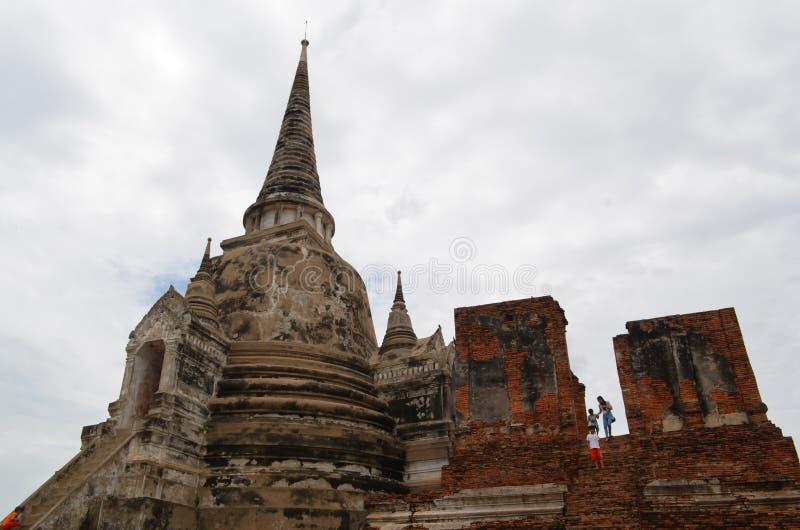 Templo de ruina en Tailandia imagen de archivo