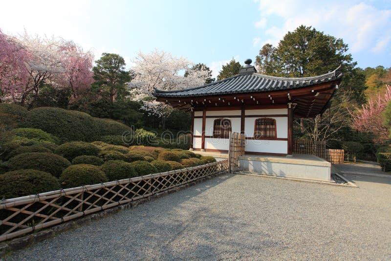 Templo de Ryoan-ji, Kyoto, Japón imagen de archivo