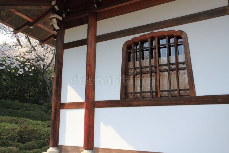 Templo de Ryoan-ji, Kyoto, Japón fotografía de archivo