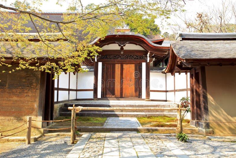 Templo de Ryoan-ji, Kyoto, Japón imágenes de archivo libres de regalías