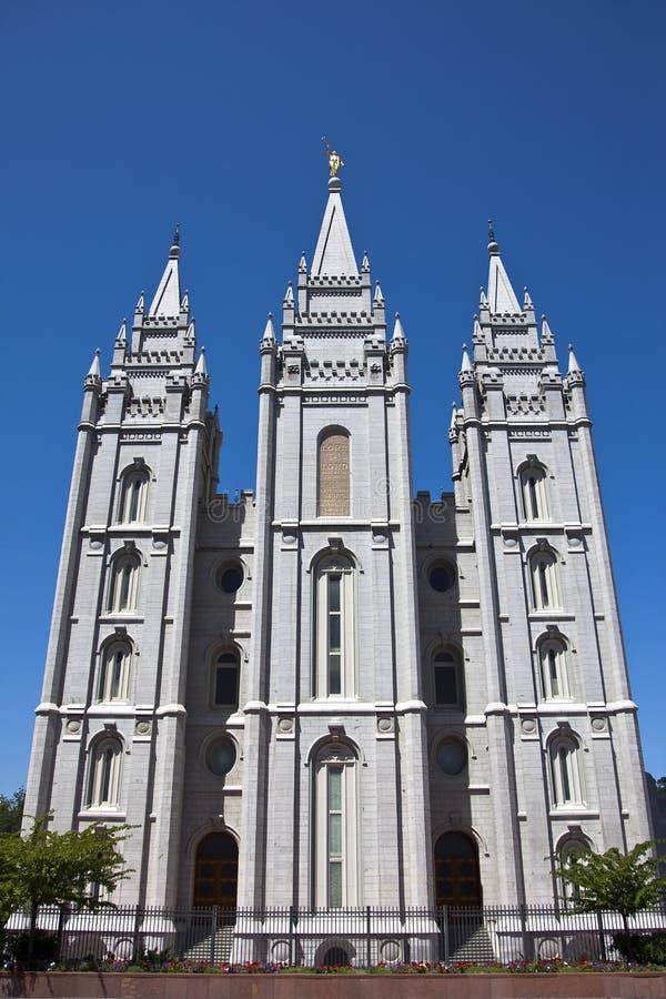 Templo de Salt Lake fotos de stock royalty free