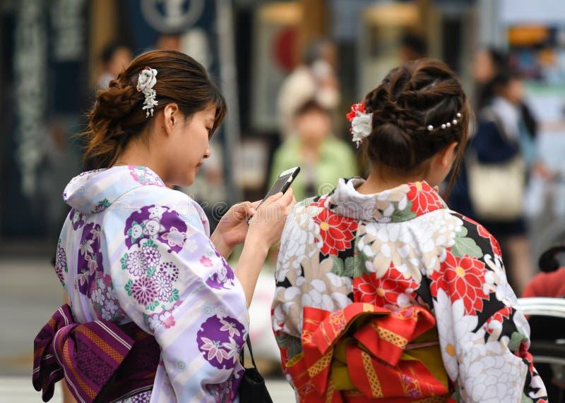 Templo de Sensoji, Tokio, Japón imagenes de archivo