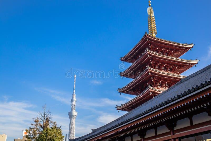 Templo de Sensoji fotos de archivo libres de regalías