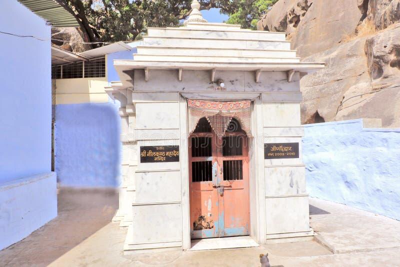 Templo de Shankar Math, montagem Abu fotografia de stock