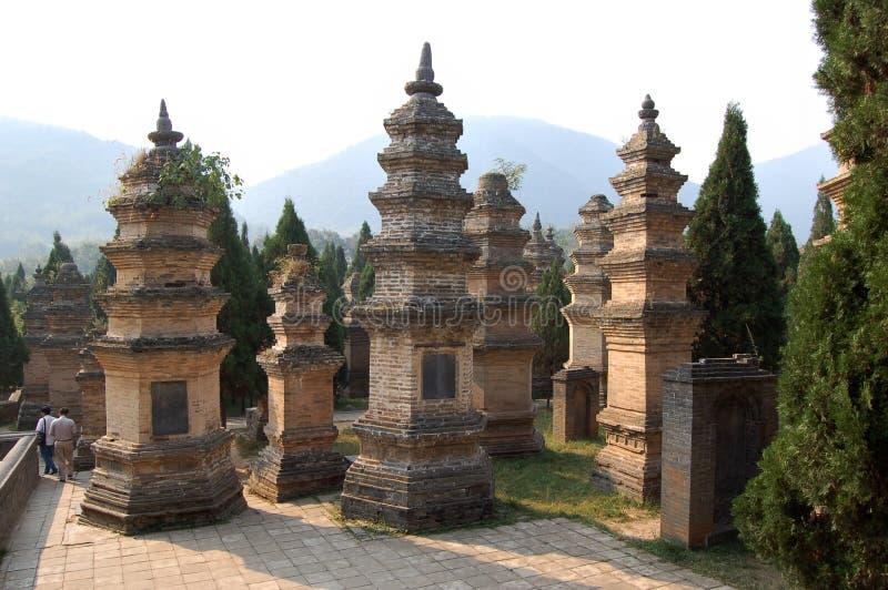 Templo de Shaolin imagem de stock royalty free