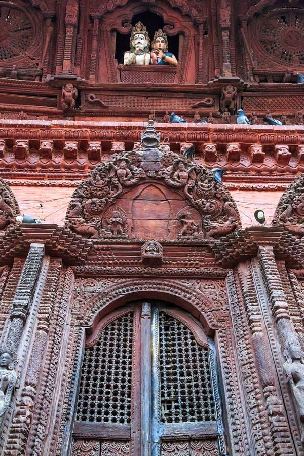 Templo de Shiva-Parvati, cuadrado de Durbar, Katmandu, Nepal imágenes de archivo libres de regalías