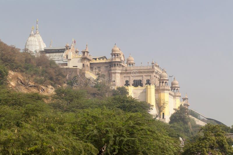 Templo de Shri Radha Rani Mandir imagen de archivo