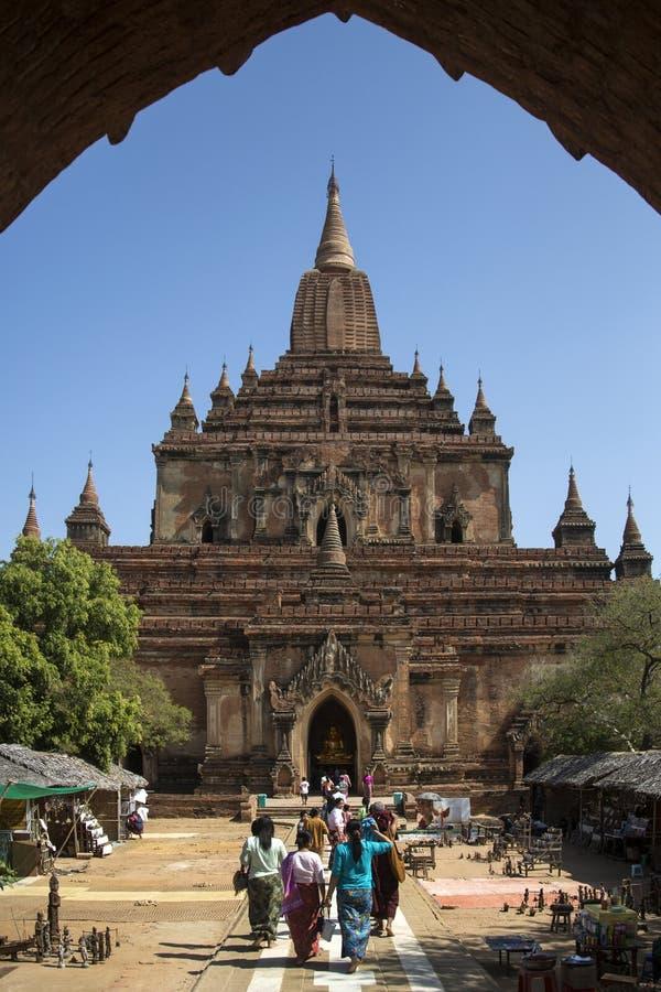 Templo de Shwegugyi - Bagan - Myanmar foto de archivo libre de regalías