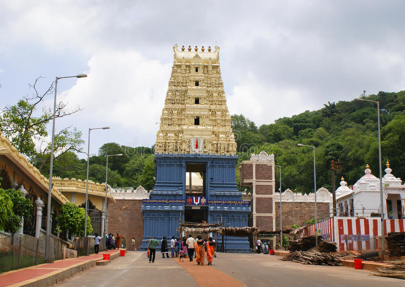 Templo de Simhachalam, Andhra Pradesh fotos de archivo libres de regalías