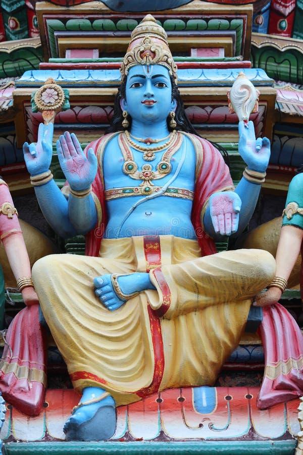 Templo de Sri Mariamman - Singapore imagens de stock royalty free