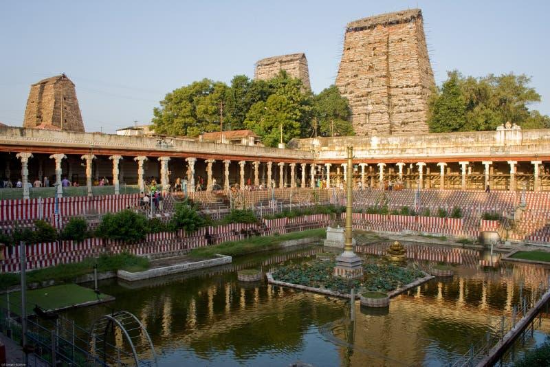 Templo de Sri Meenakshi imagem de stock