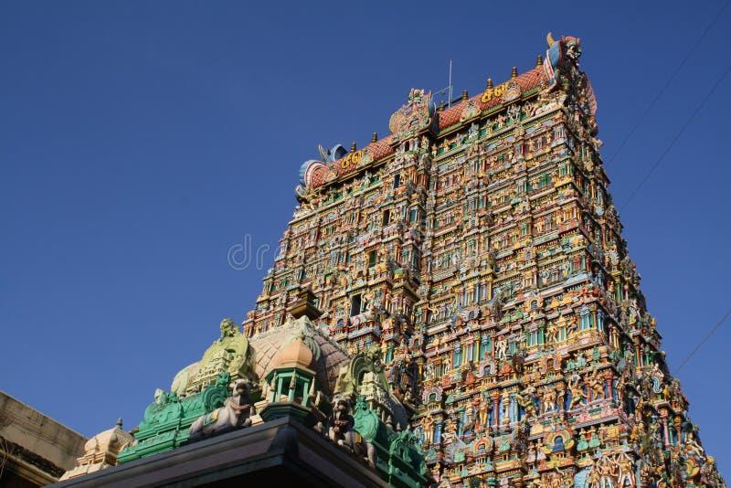 Templo de Sri Meenakshi Amman fotos de archivo libres de regalías
