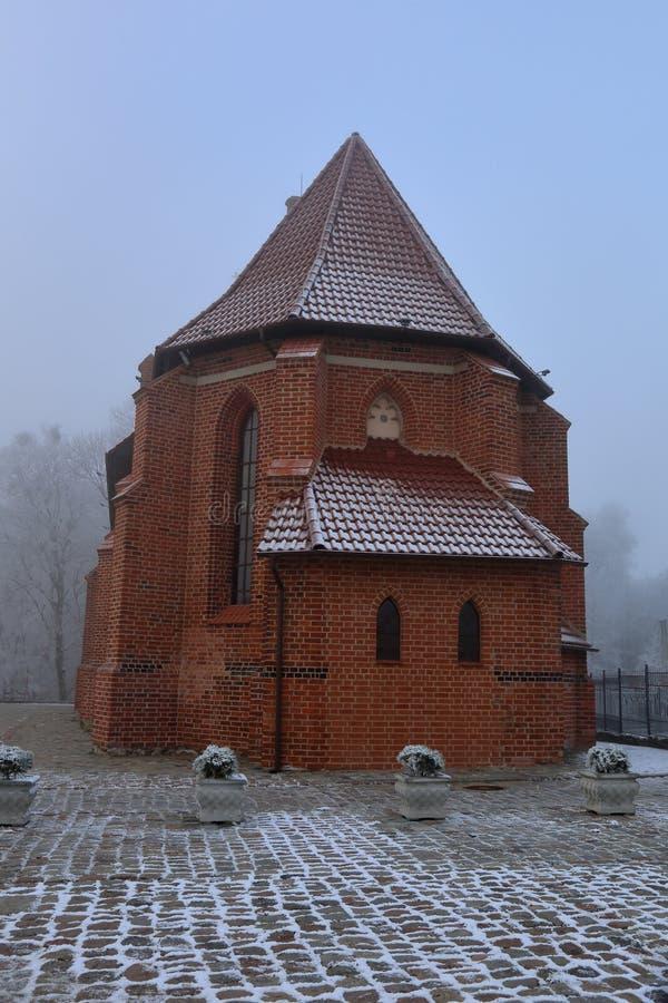 Templo de St Catherine o Arnau Kirch, región de Kaliningrado, Rusia foto de archivo libre de regalías