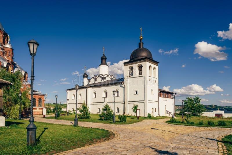 Templo de St Sergius de Radonezh foto de archivo libre de regalías
