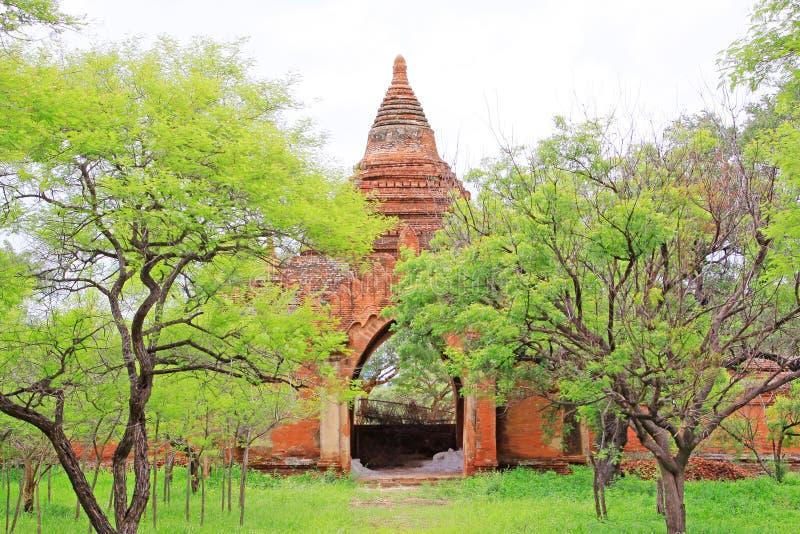 Templo de Sulamani, Bagan, Myanmar fotos de stock royalty free
