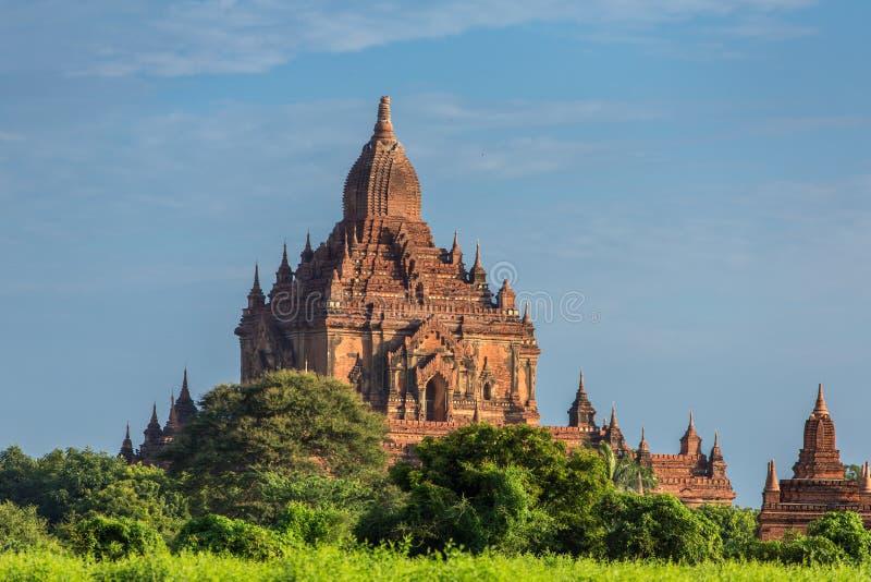 Templo de Sulamani em Bagan imagens de stock royalty free