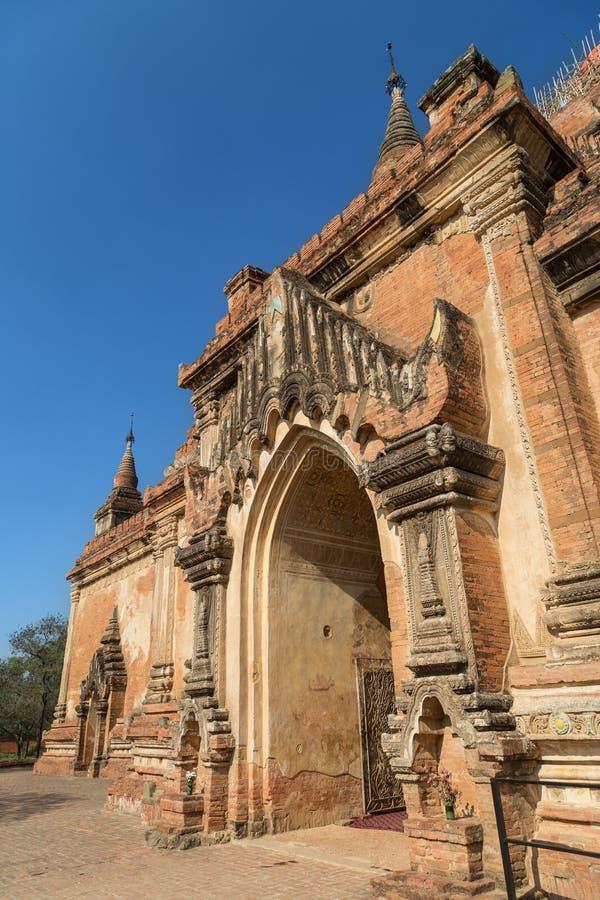 Templo de Sulamani em Bagan foto de stock
