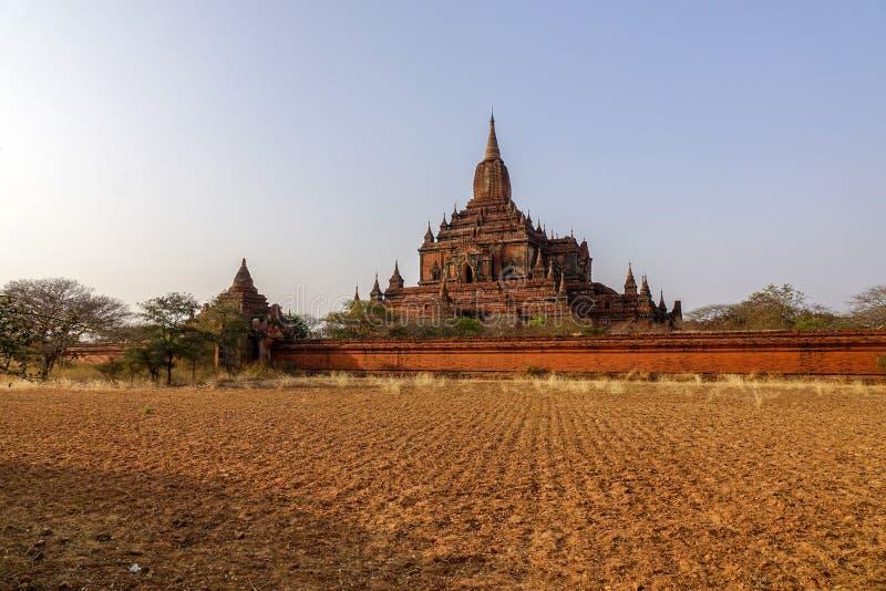 Templo de Sulamani em Bagan, Myanmar fotos de stock royalty free