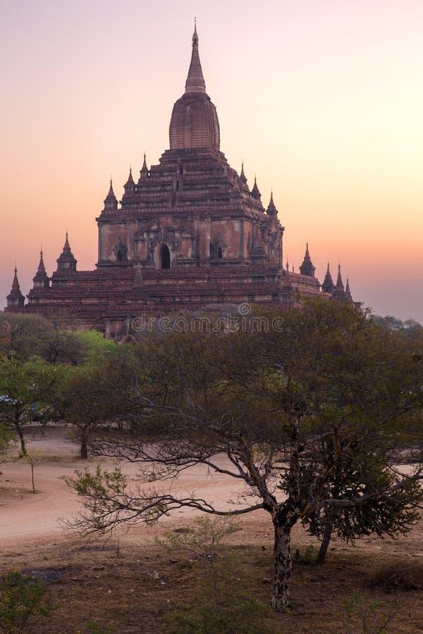 Templo de Sulamani no nascer do sol fotografia de stock royalty free