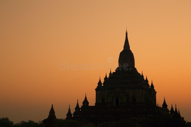Templo de Sulamani no nascer do sol foto de stock royalty free