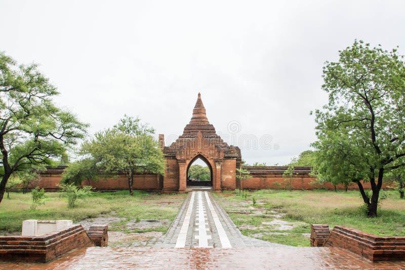 Templo de Sulamani (pagode) em Bagan velho (pagão), Myanmar (Burma) fotografia de stock