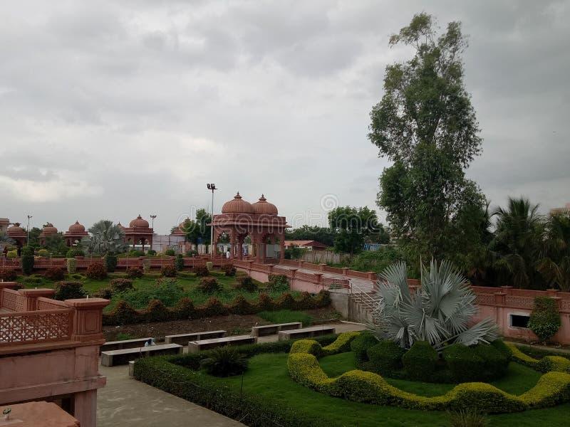 Templo de Swaminarayan imagenes de archivo