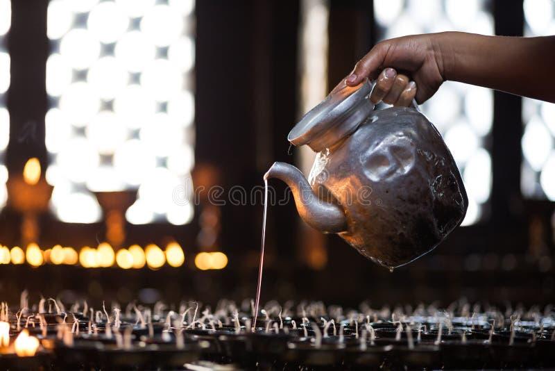 Templo de Swayabhunath fotos de stock