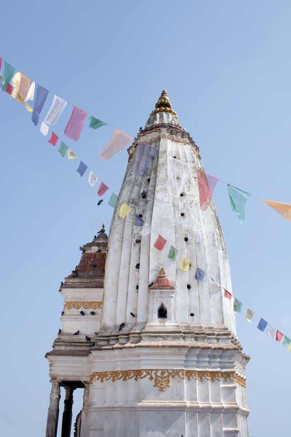 Templo de Swayambhunath - Nepal foto de stock
