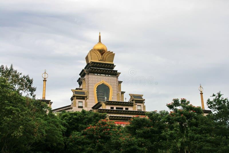 Templo de Taichung em Formosa fotos de stock royalty free