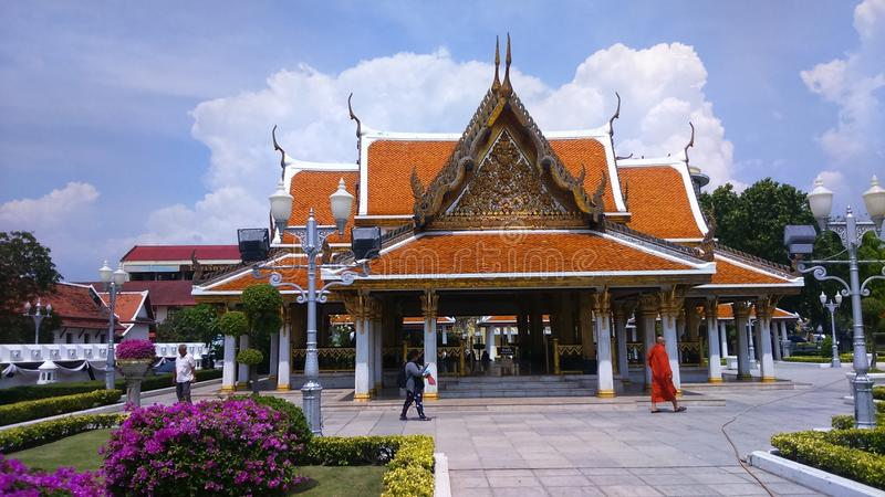 Templo de Tailândia Banguecoque fotografia de stock royalty free