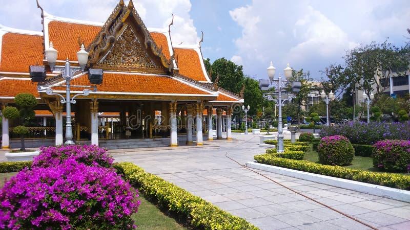 Templo de Tailândia em Banguecoque fotografia de stock royalty free