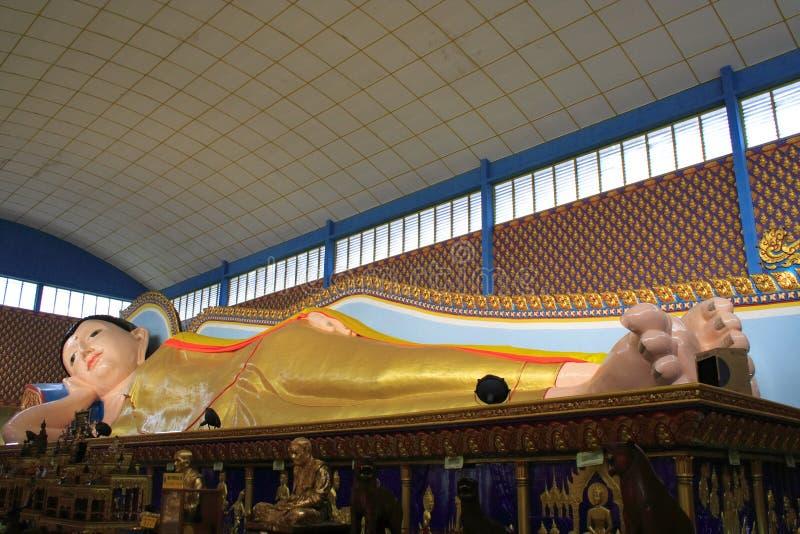 Templo de Tailândia em Penang imagens de stock