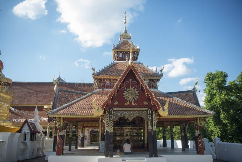 TEMPLO DE TAILÂNDIA LAMPANG WAT PONGSANUK imagem de stock royalty free