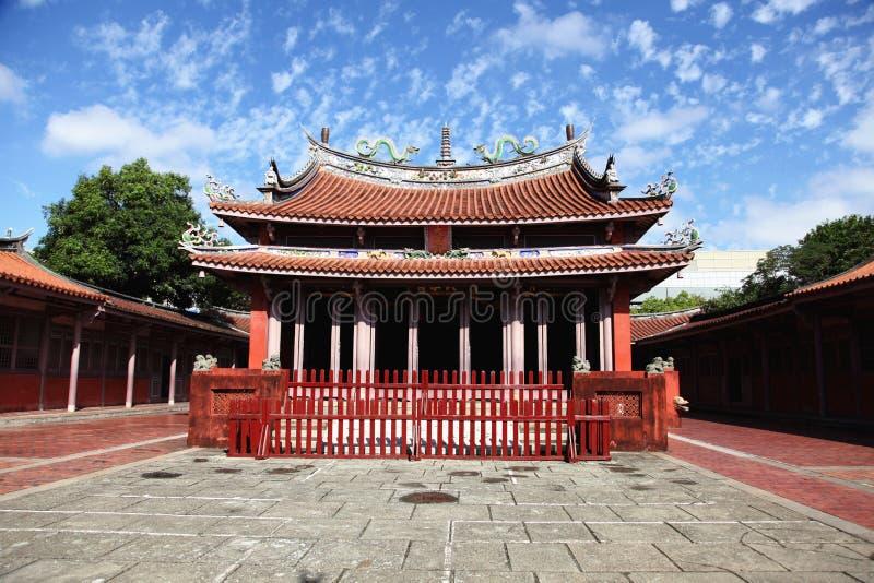 Templo de Tainan Confucio fotografía de archivo libre de regalías