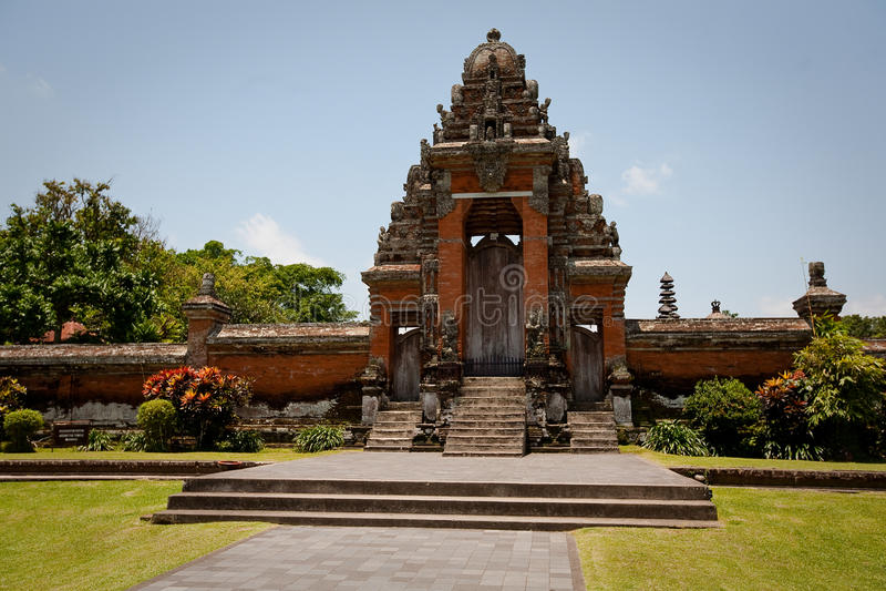 Templo de Taman Ayun (Mengwi) fotos de stock royalty free
