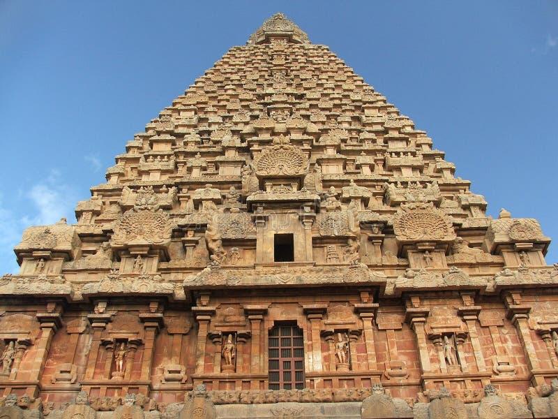 Templo de Tanjore imagen de archivo