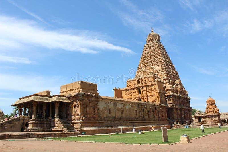 Templo de Thanajvur fotos de archivo libres de regalías