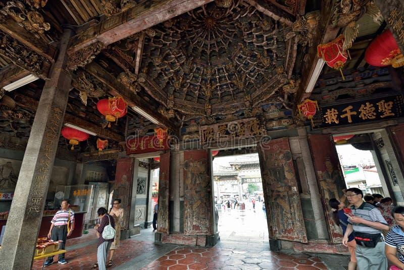 Templo de Thean Hou em Lukang fotografia de stock royalty free