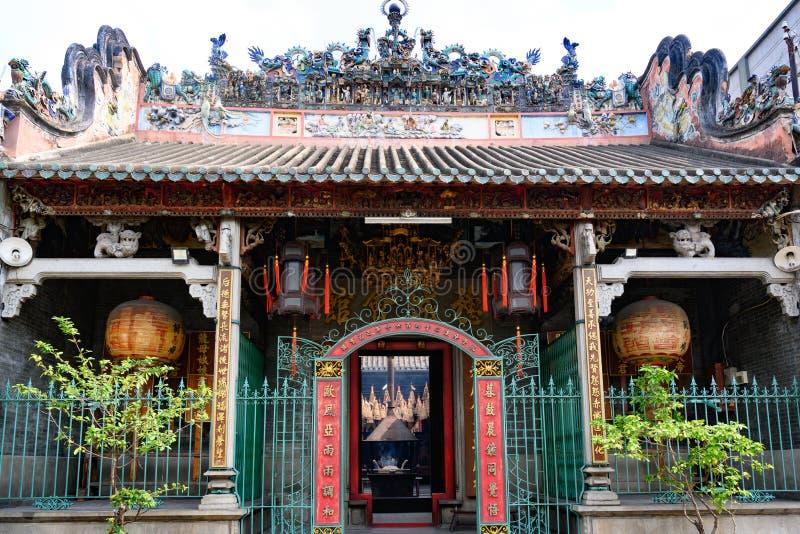 Templo de Thien Hau, Ho Chi Minh City o Saigon, Vietnam imagenes de archivo