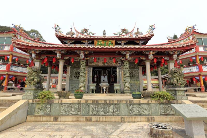 Templo de Tianzhu (coluna do céu) da cidade nan'an, cidade de quanzhou, porcelana foto de stock royalty free