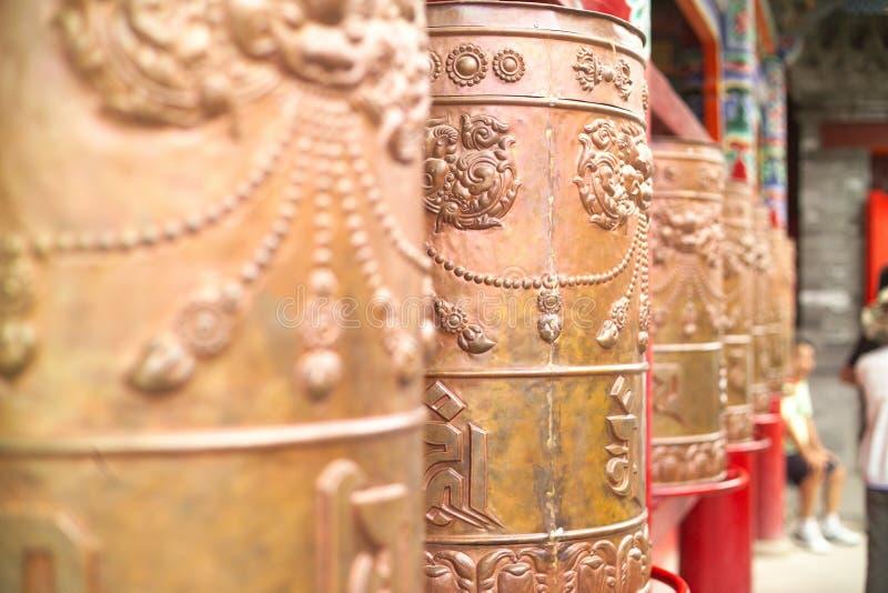 Templo de Tibet fotografia de stock royalty free