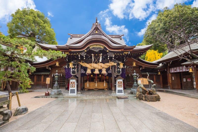 Templo de Tocho-ji ou templo gigante da Buda de Fukuoka em Fukuoka, Japão foto de stock