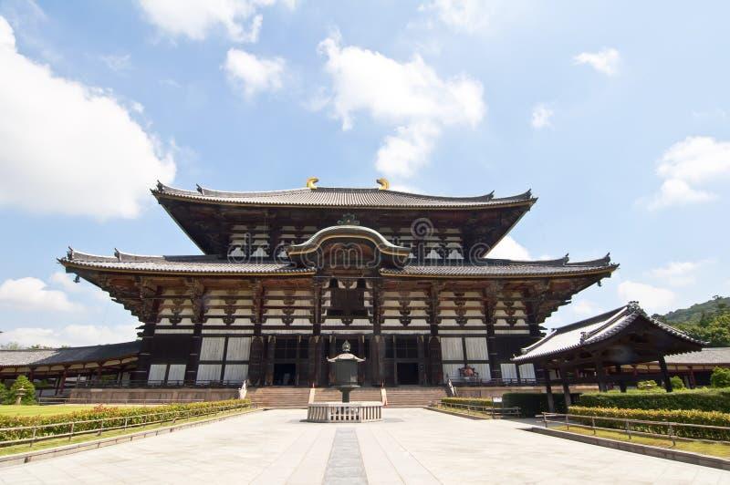 Templo de Todai-ji de Nara, Japón fotos de archivo