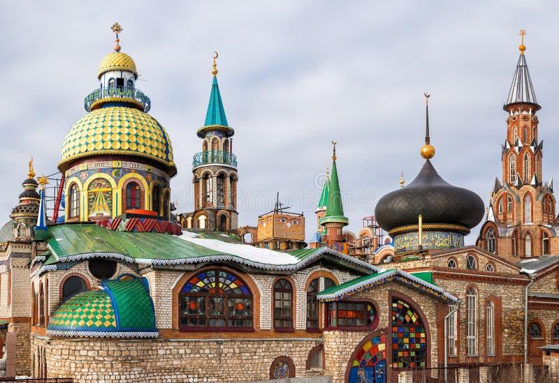 Templo de todas las religiones fotografía de archivo