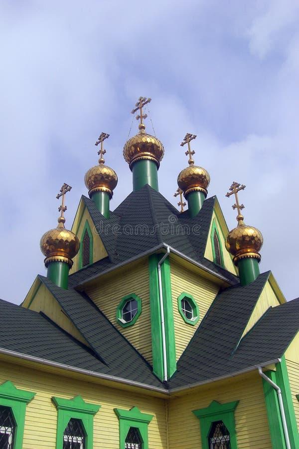 Templo de todos os Saint foto de stock