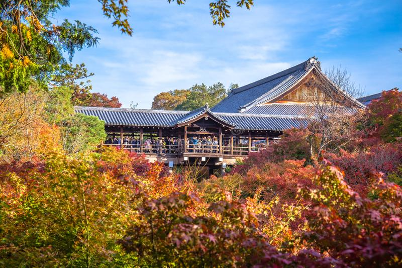 Templo de Tofukuji imágenes de archivo libres de regalías