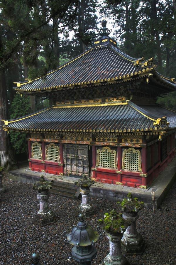 Templo de Toshogo, Nikko imagenes de archivo